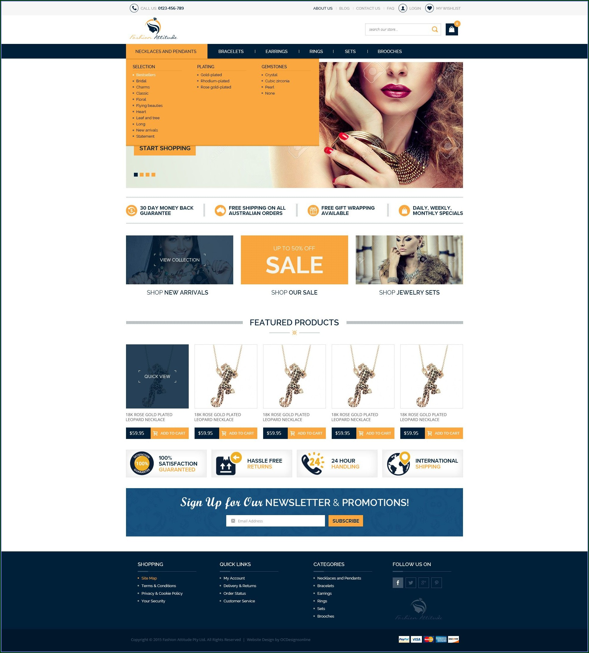 Volusion Website Templates