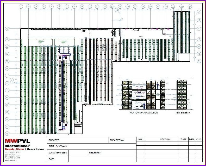 Warehouse Layout Warehouse Map Template