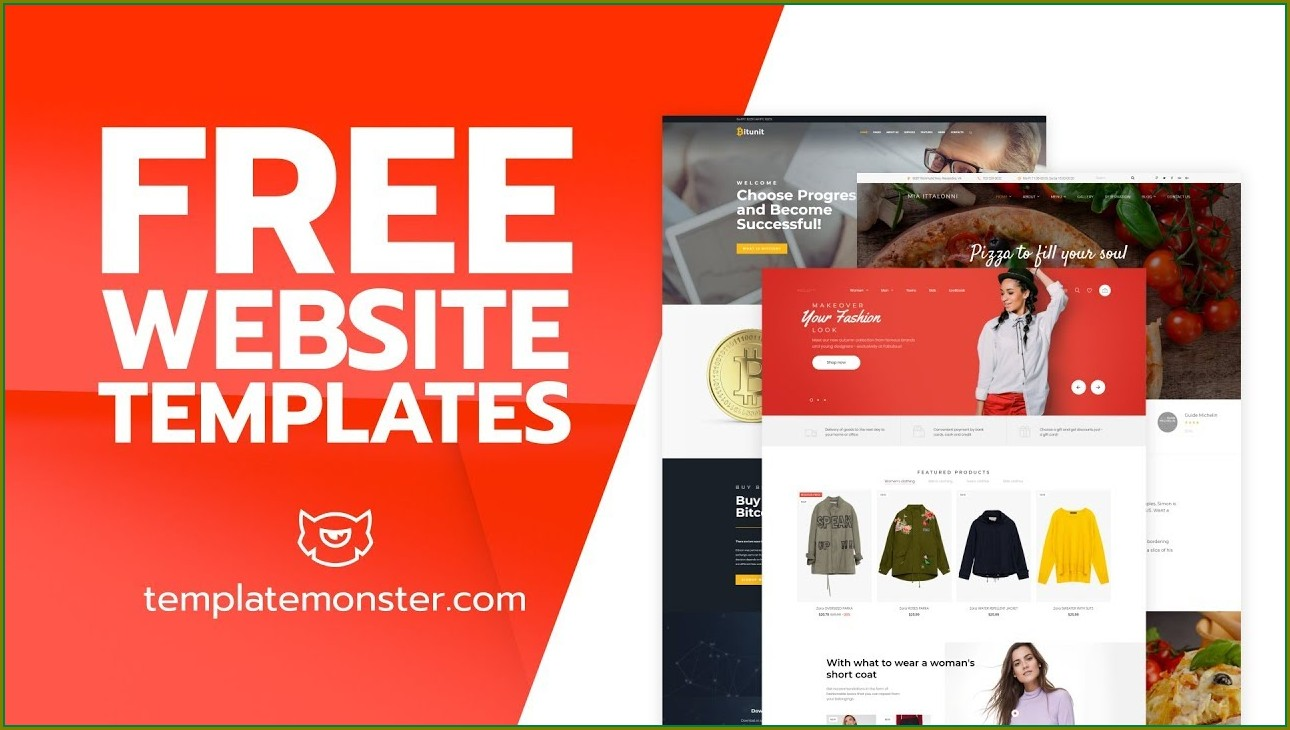 Web Page Templates Free