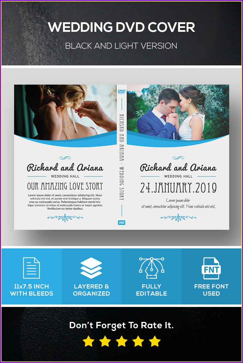 Wedding Dvd Template