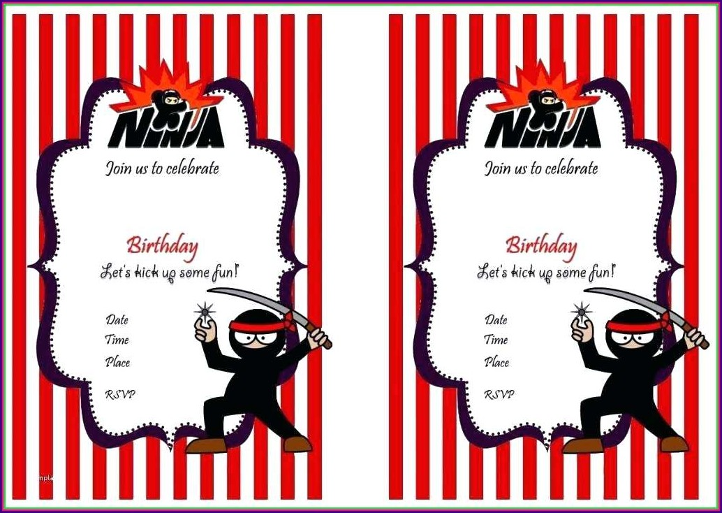 Western Theme Party Invitation Template Free