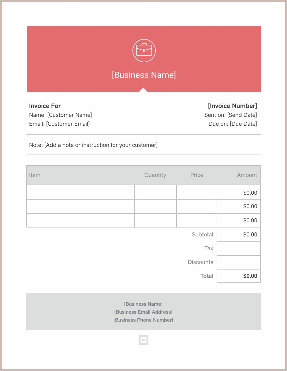 Windows Invoice Template Downloads