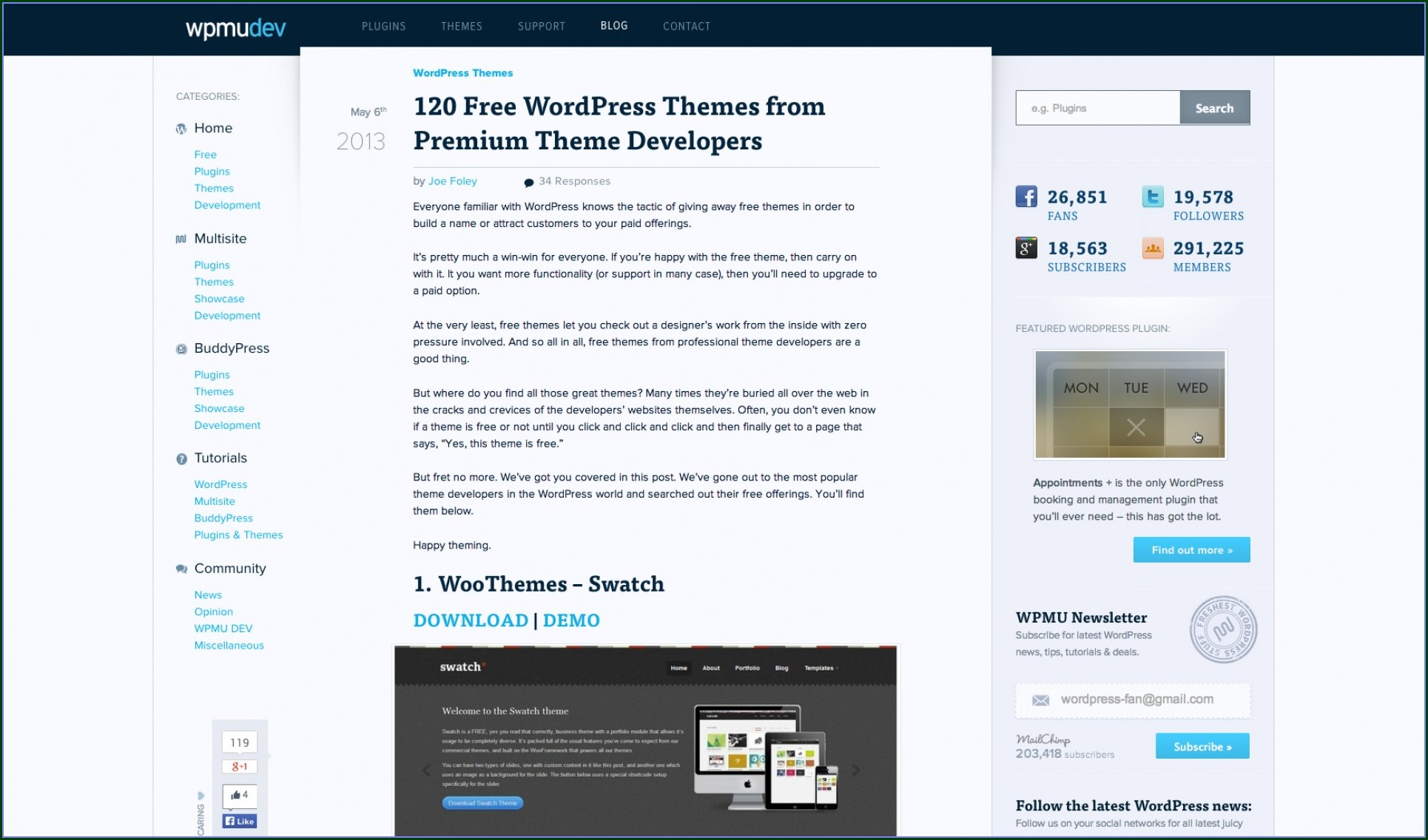 Wordpress Templates Premium Free