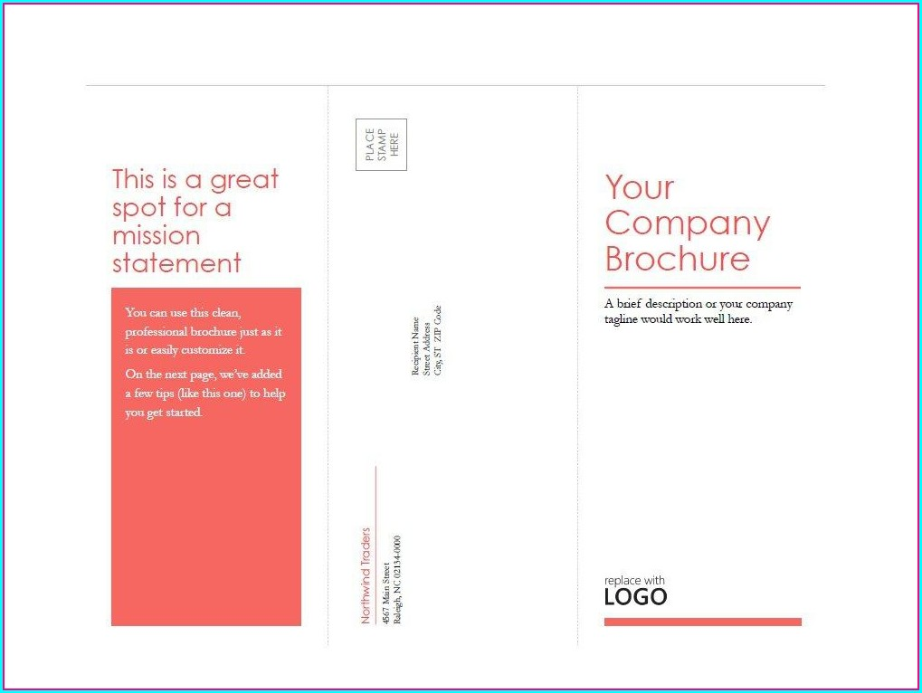Workshop Brochure Template Word