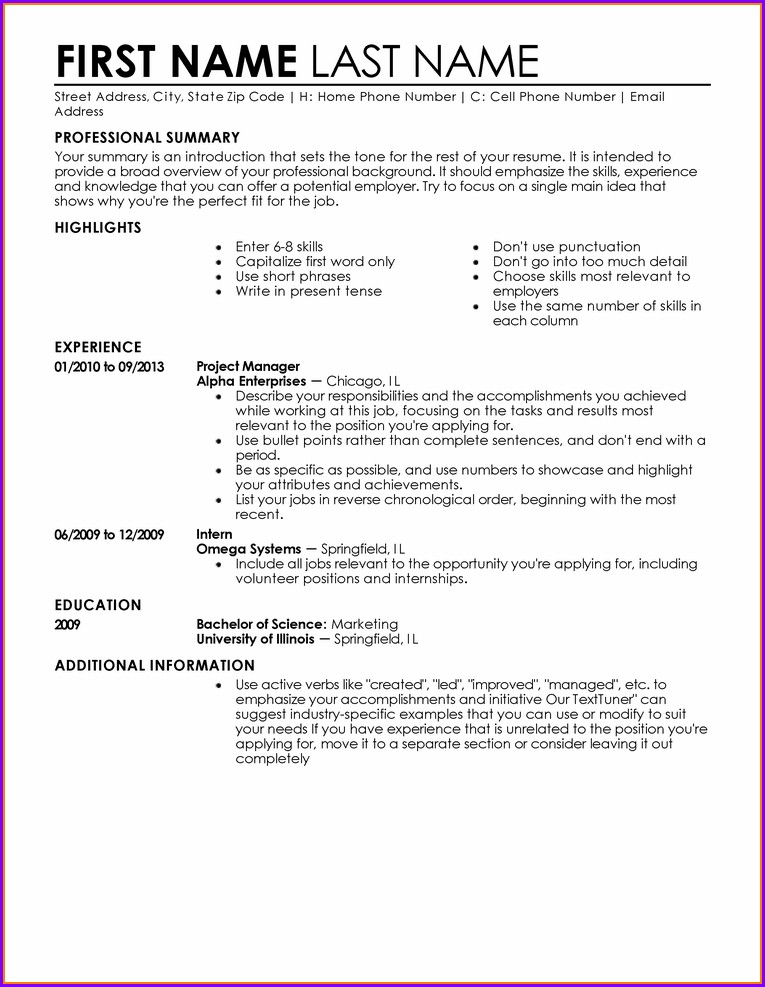 Accounts Payable Resume Template Microsoft Word
