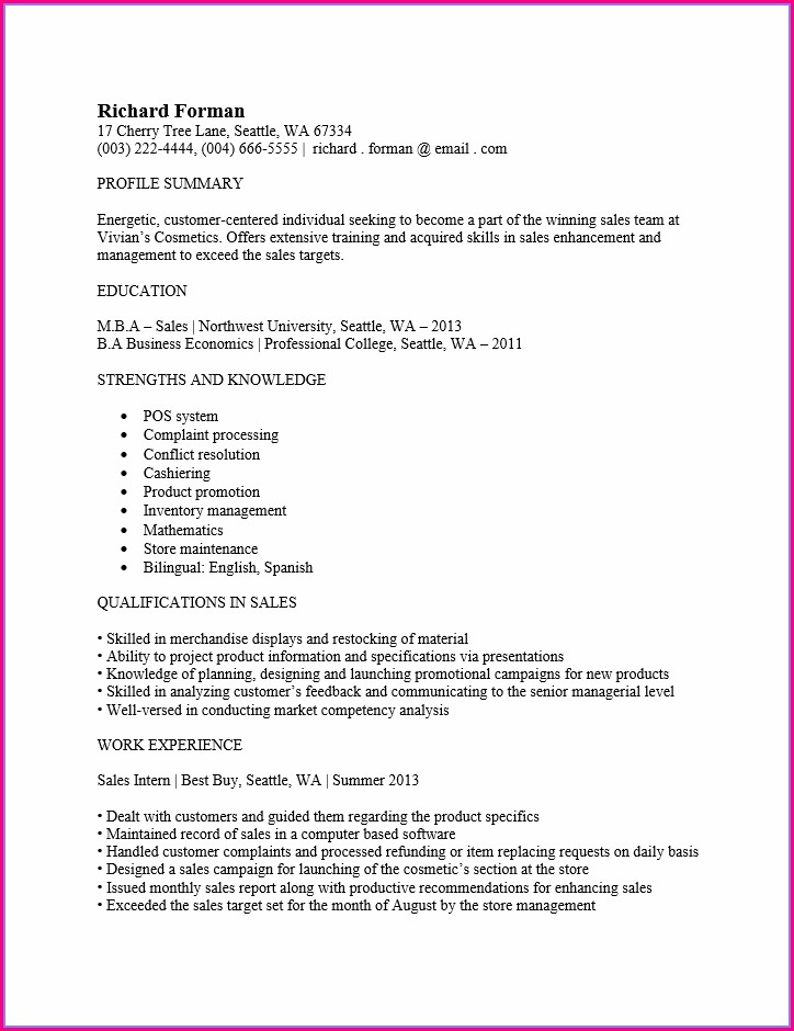 Are There Any Free Resume Templates