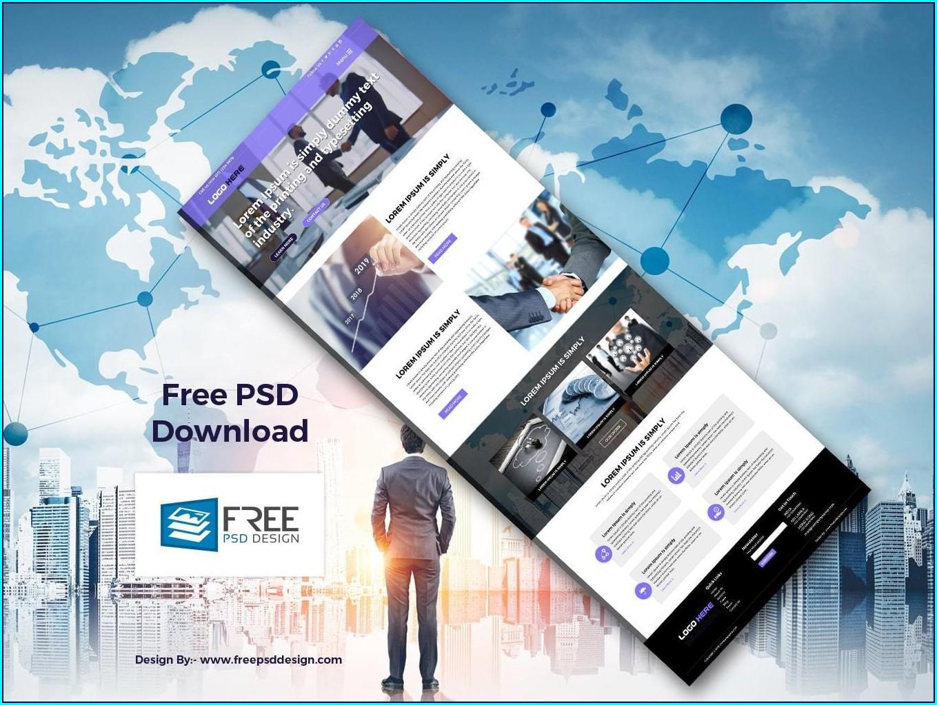 B2b Website Templates Free