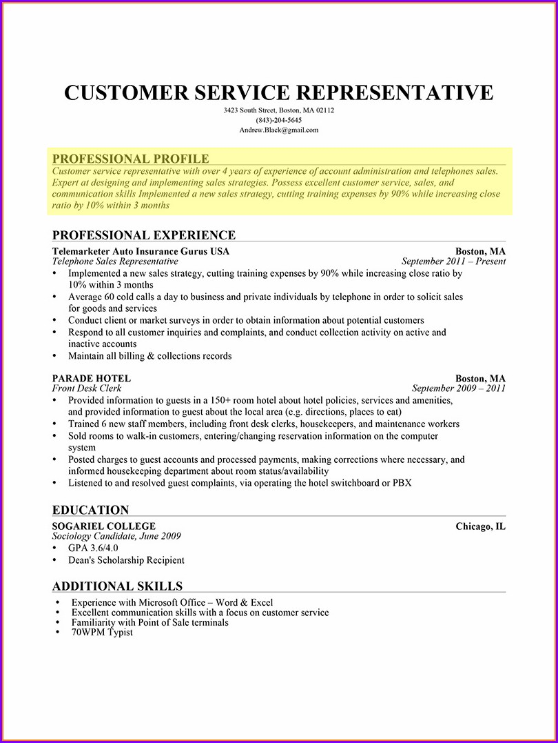 Basic Resume Format Pdf For Freshers