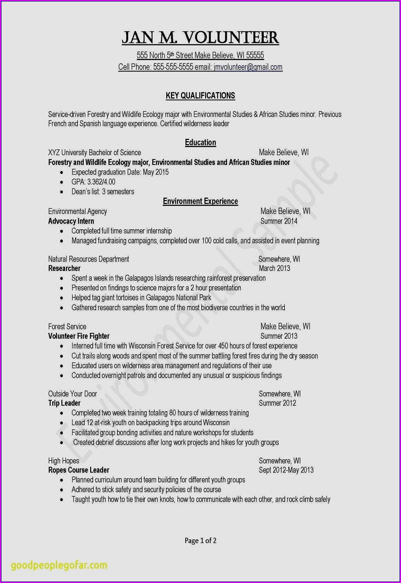 Best Cv Format For Teacher Job