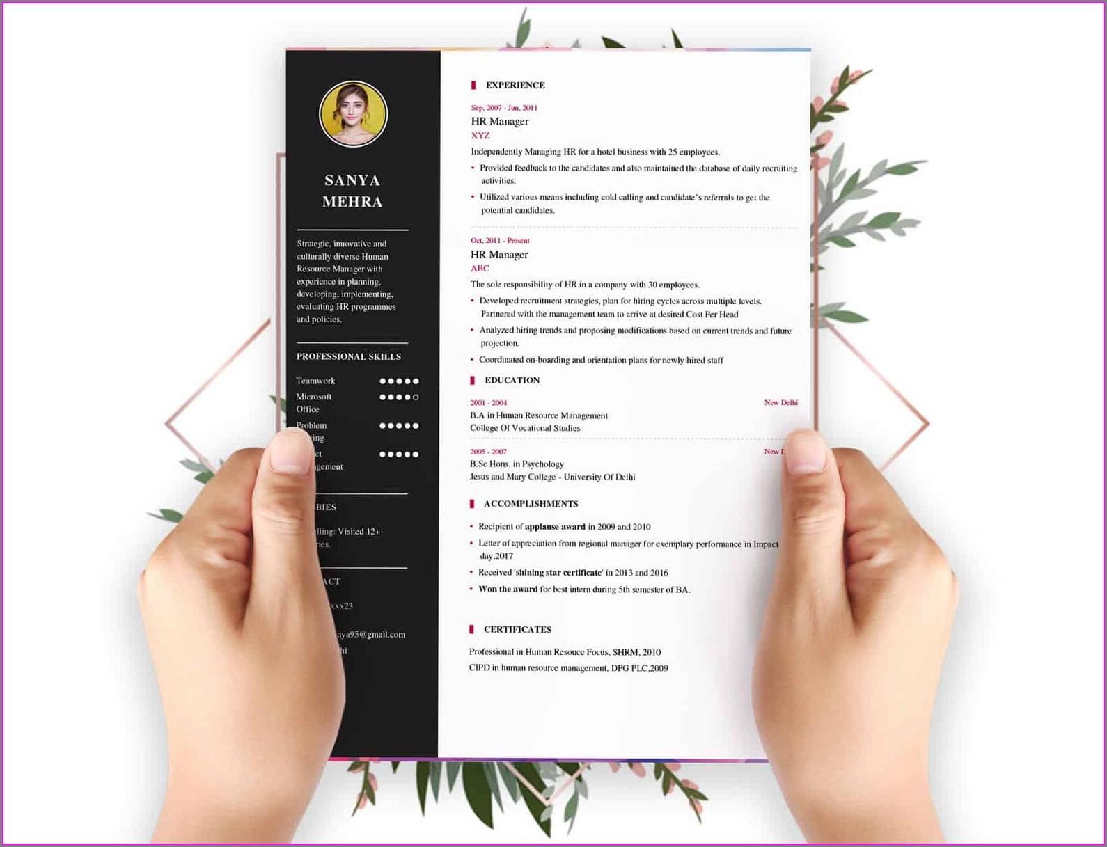 Best Free Online Resume Builder 2018