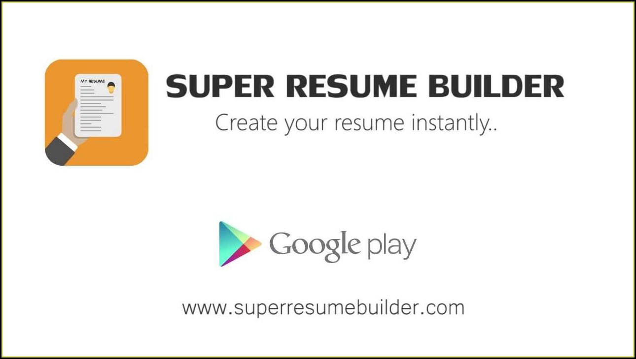 Best Resume Builder App Ios
