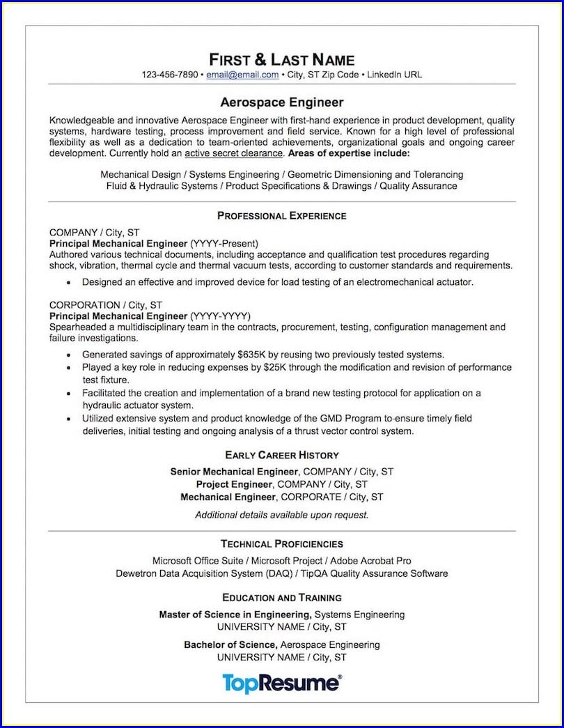 Best Resume For Airline Jobs