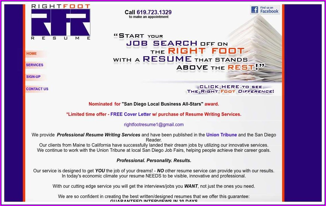 Best Resume Services San Diego