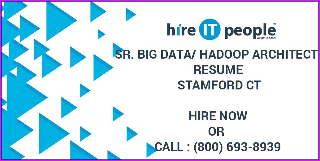 Big Data Hadoop Architect Resume