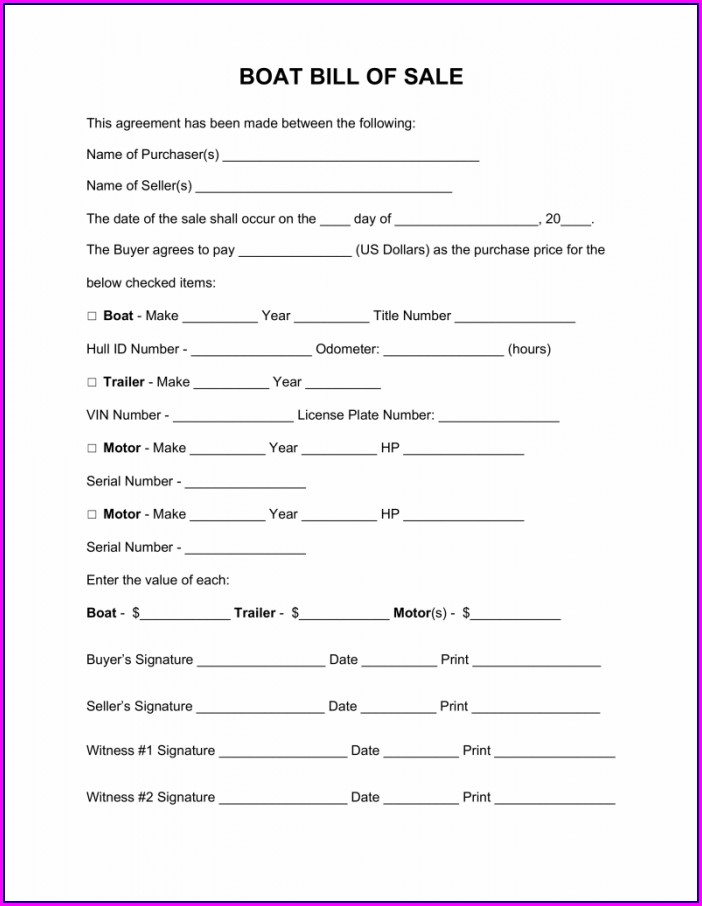 Boat Maintenance Log Book Template