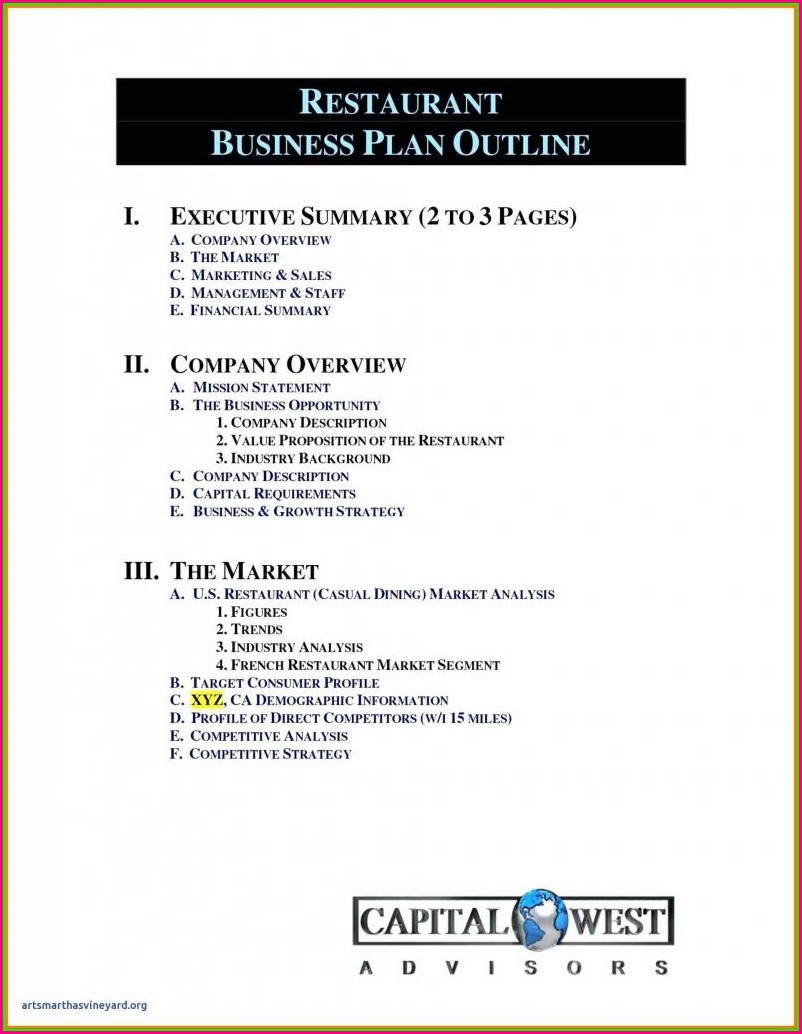 Business Plan Template Mac Pages Free