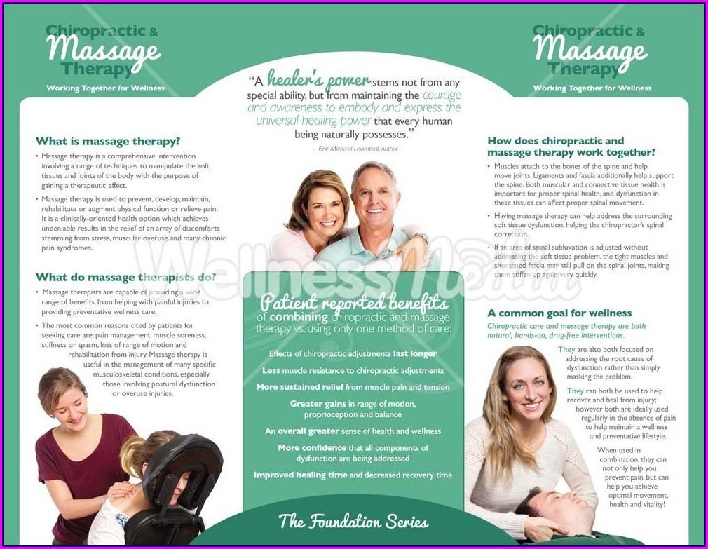 Chiropractic Brochures Template