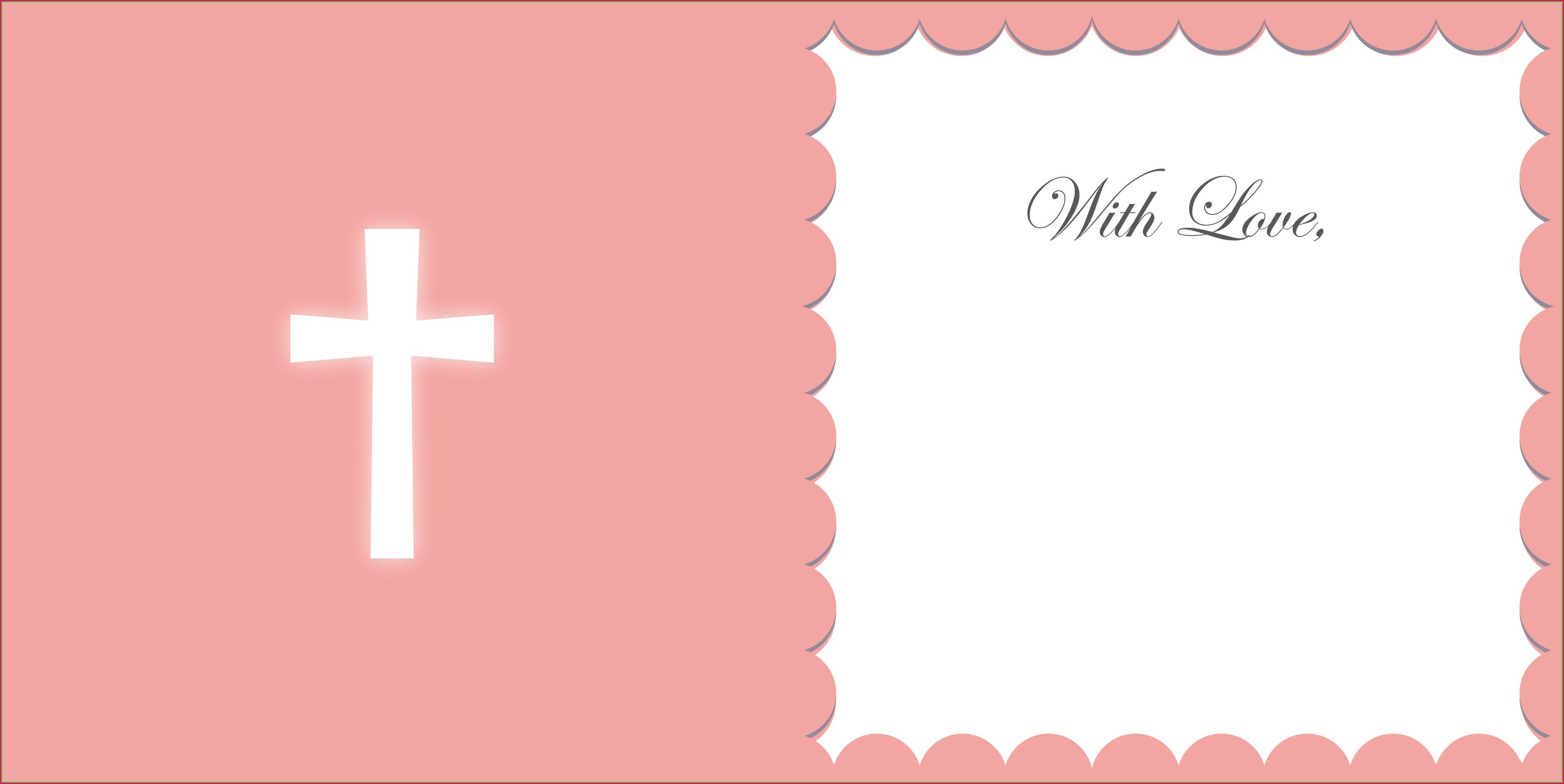 Christening Invitation Templates Photoshop
