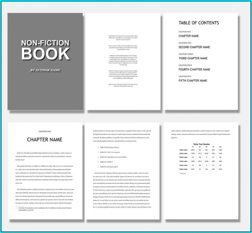 Coffee Table Book Templates Free