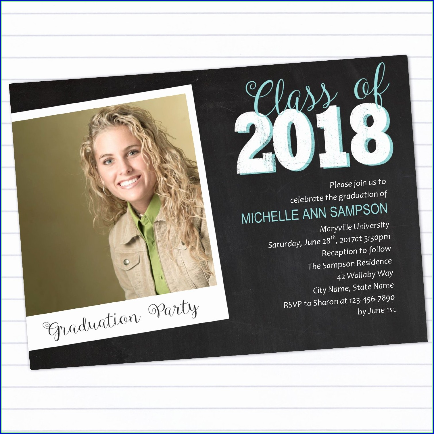 College Graduation Announcements Templates Free