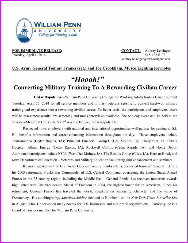 Convert Military Skills To Civilian