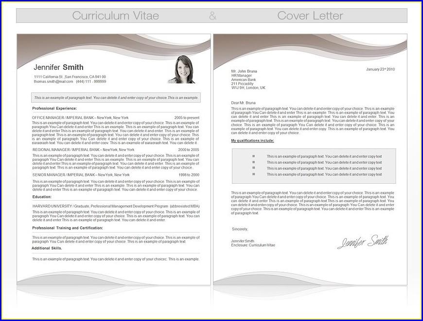 Curriculum Vitae Template Microsoft Word 2010