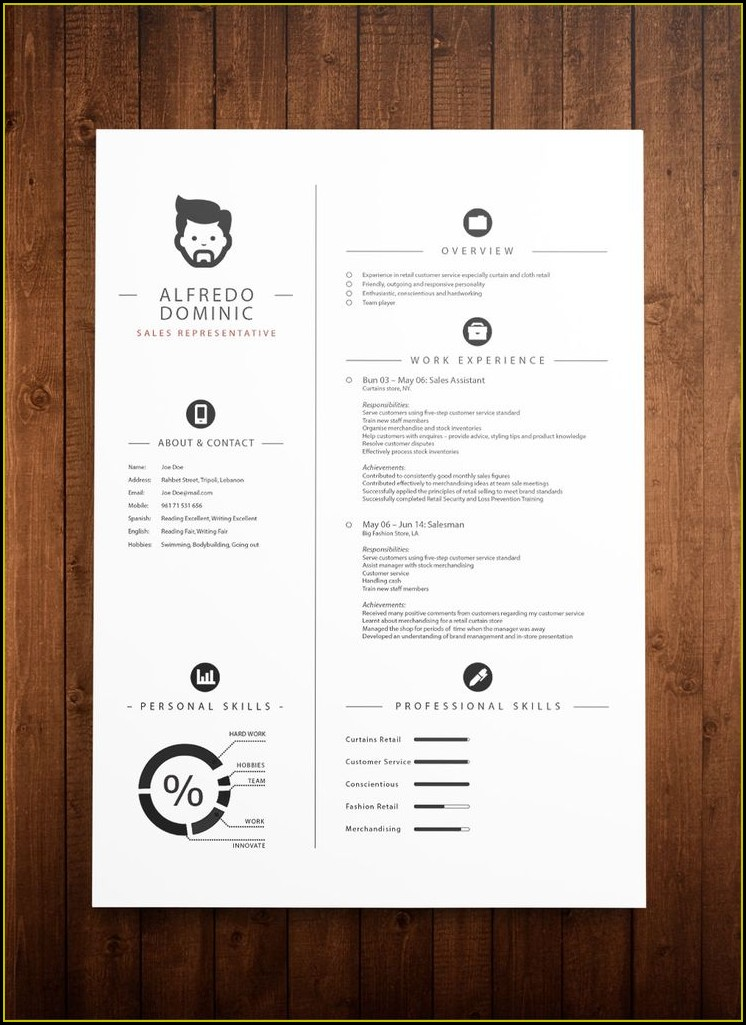 Cv Template Download Mac Free