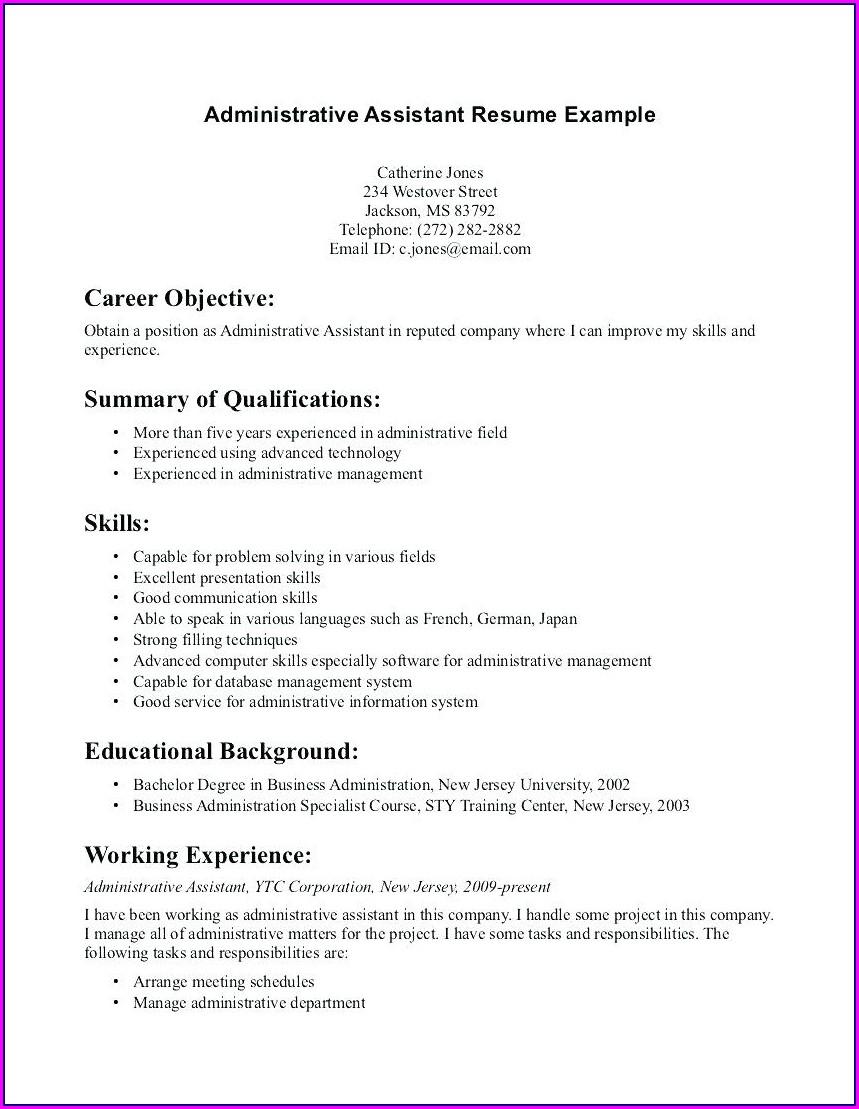 Dental Hygiene Resume Format