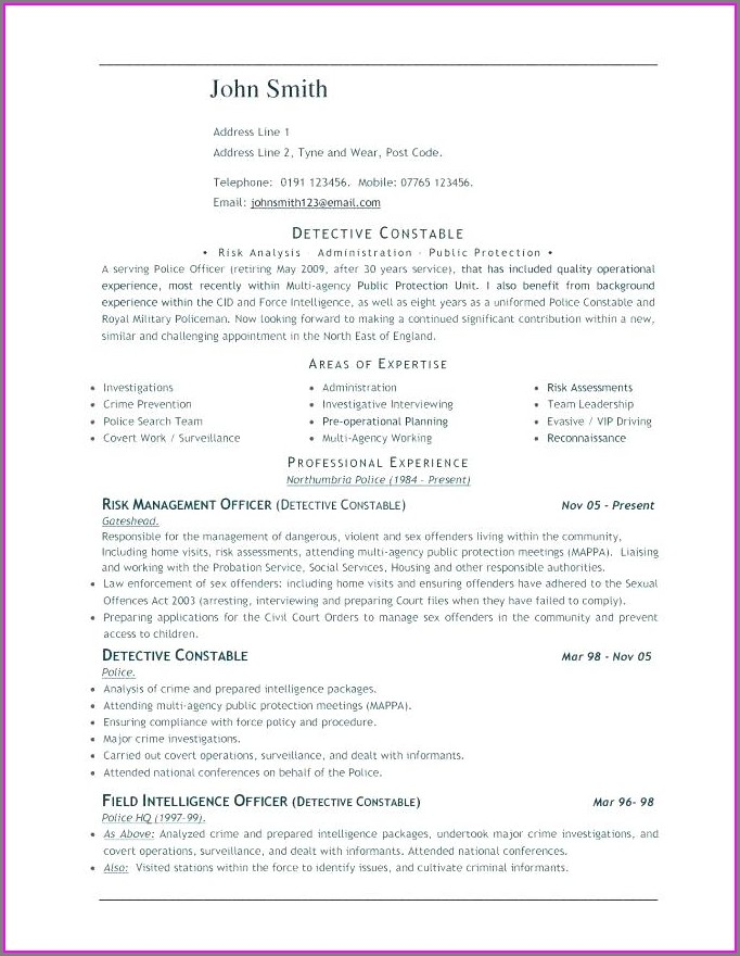 Download Free Resume Templates For Word 2003