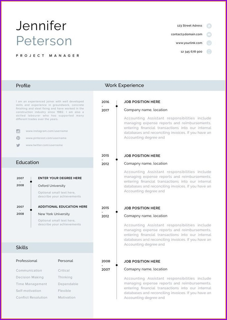 Download Resume Templates For Mac Word 2008