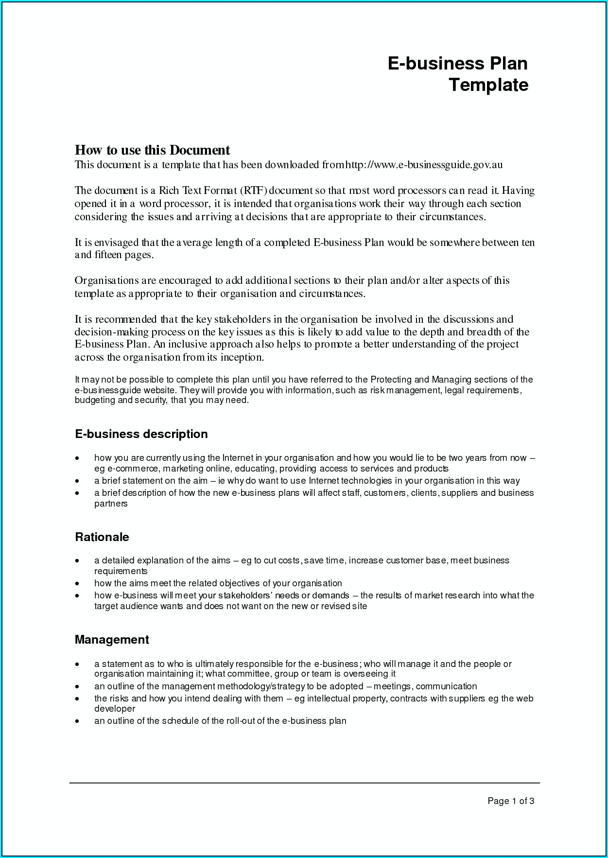 Downloadable Free Business Proposal Template Word Doc