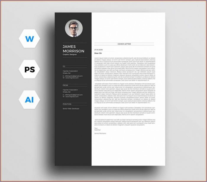 Downloadable Resume Templates For Word