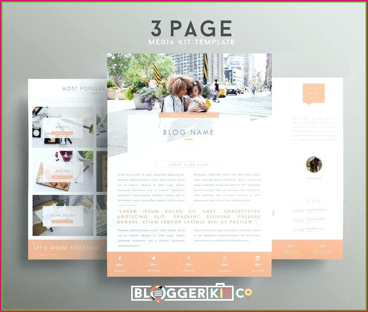 Electronic Press Kit Template Free Download
