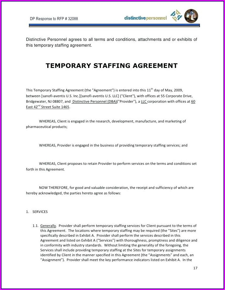 Employers Contract Template Uk