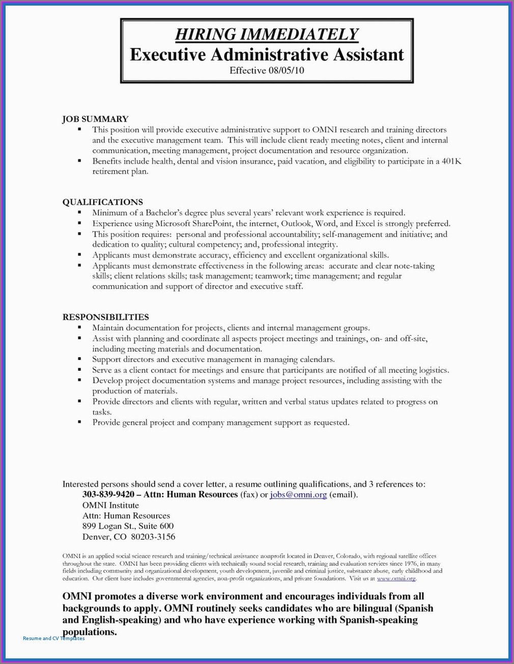 Executive Resume Writing Service Los Angeles