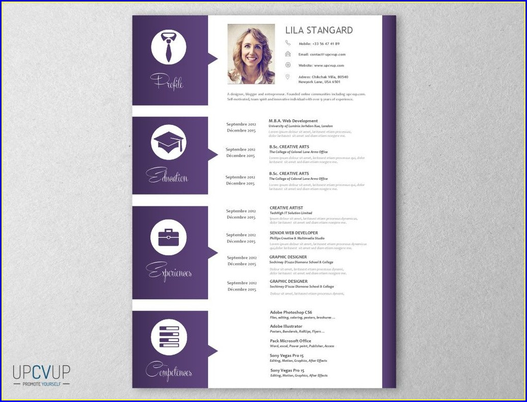 Financial Advisor Cv Template