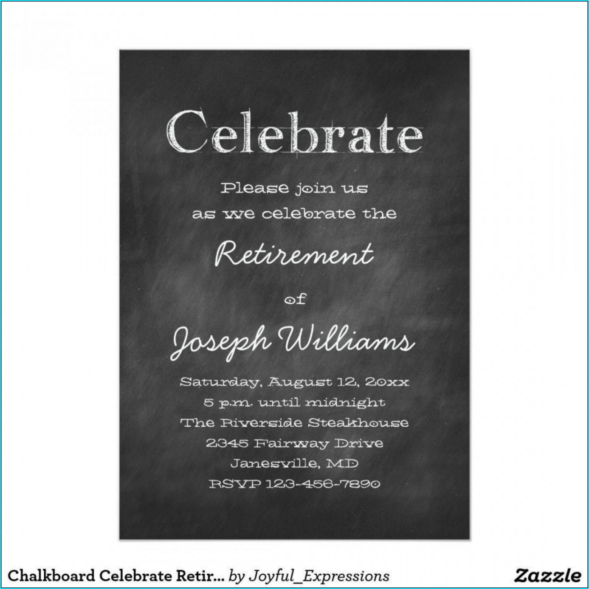Flyer Free Retirement Party Invitation Templates For Word