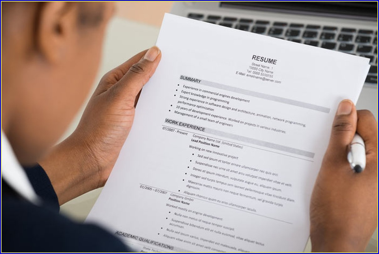 Format Of Rn Resume