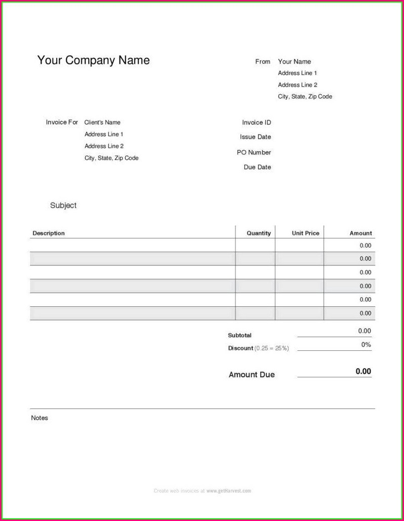 Free 1099 Pay Stub Template Pdf