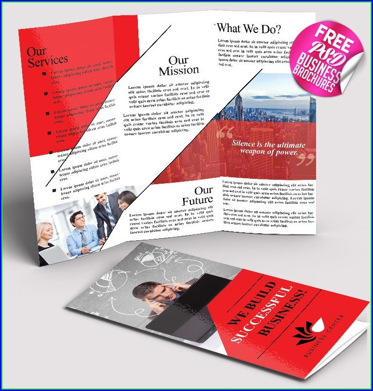 Free Business Brochures Templates