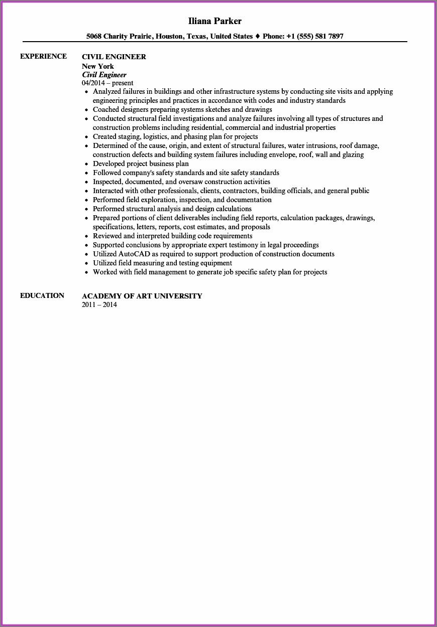 Free Download Resume Samples Pdf