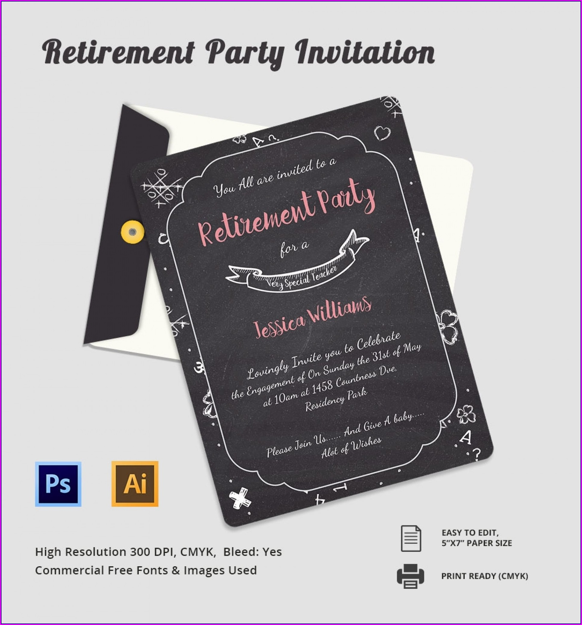 Free Elegant Invitation Templates