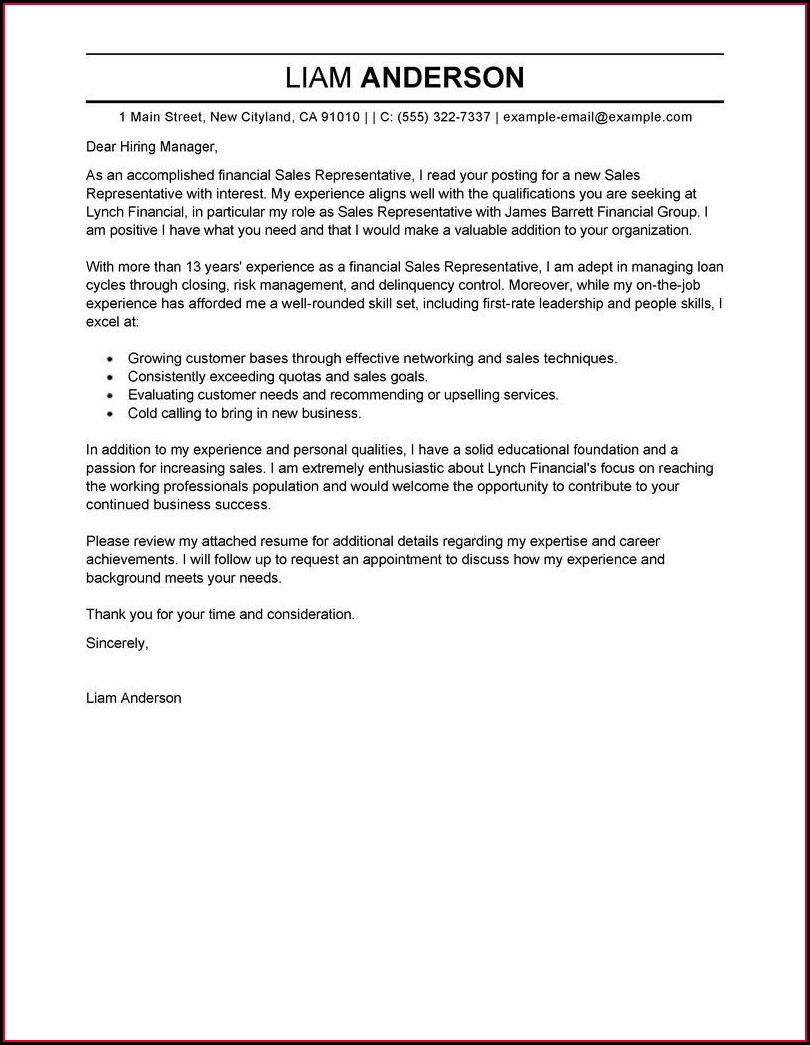 Free Examples Of Professional Resumes