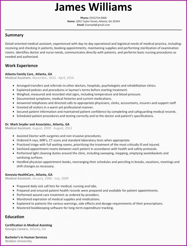 Free Nursing Student Resume Template