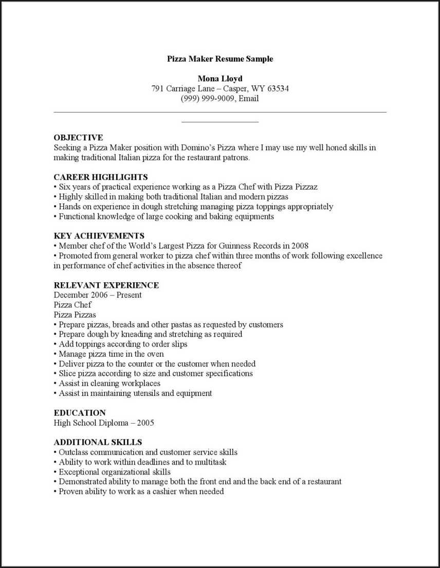 Free Online Functional Resume Builder