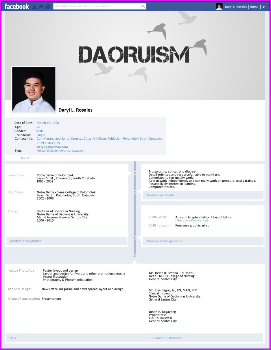 Free Online Resume Builder And Print