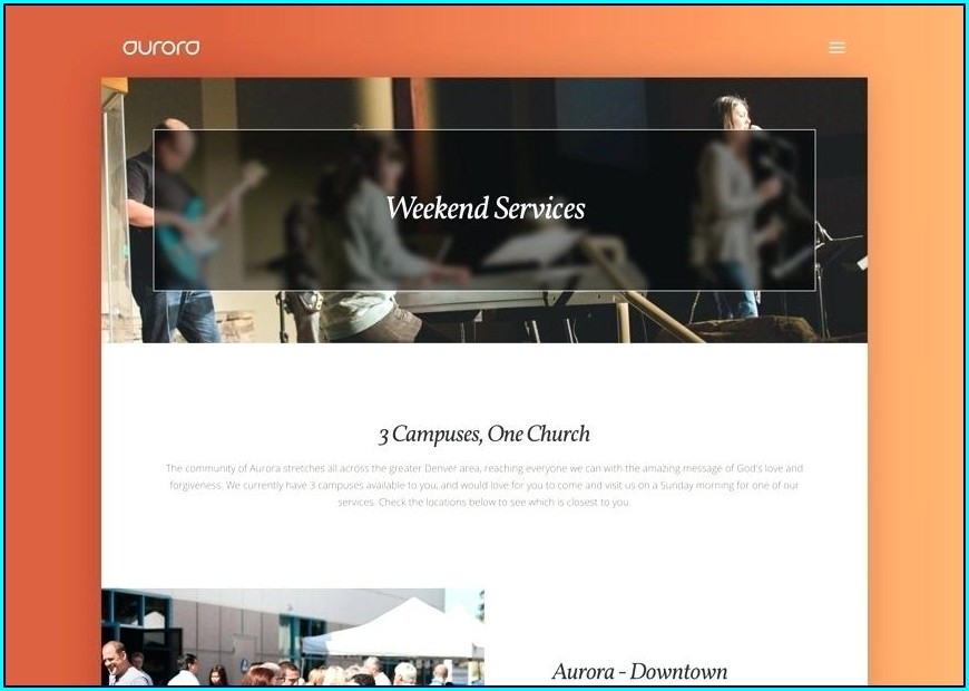 Free Religious Website Templates