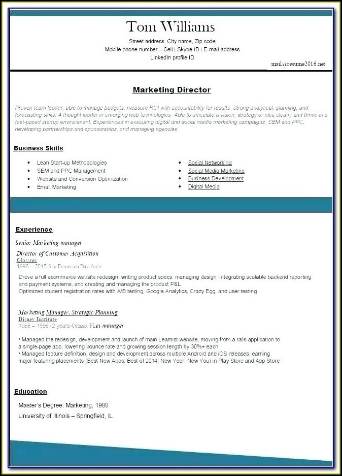 Free Resume Builder Online Quora