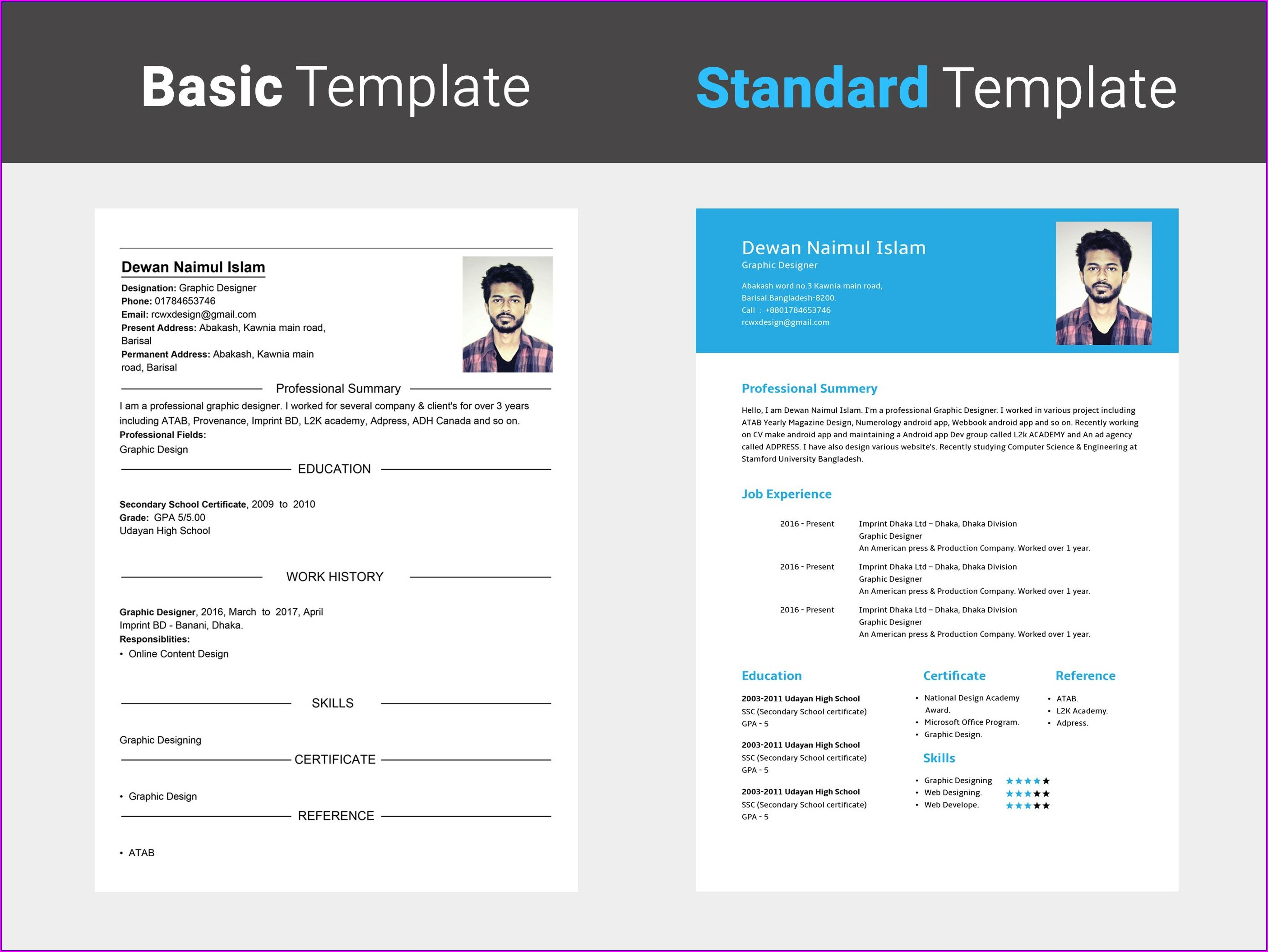 Free Resume Builder Save In Word