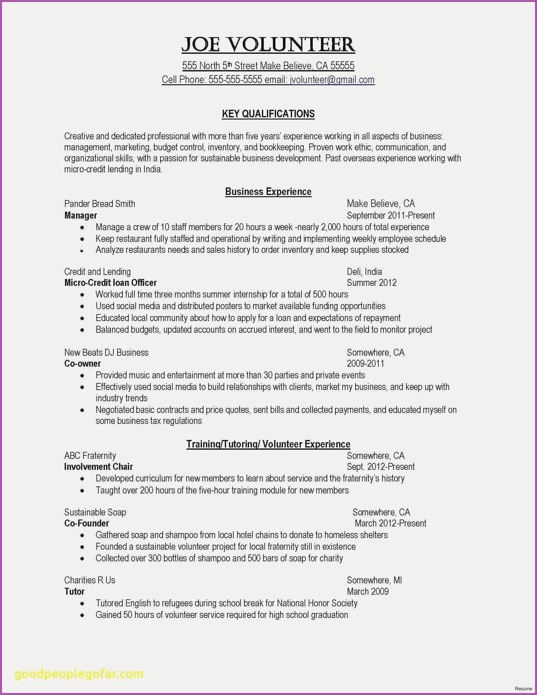 Free Resume Templates For Registered Nurses